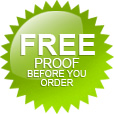 Free Proof Before You Order